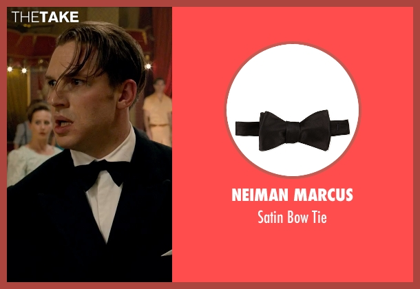 Neiman Marcus black tie from Legend seen with Tom Hardy (Ronald Kray)