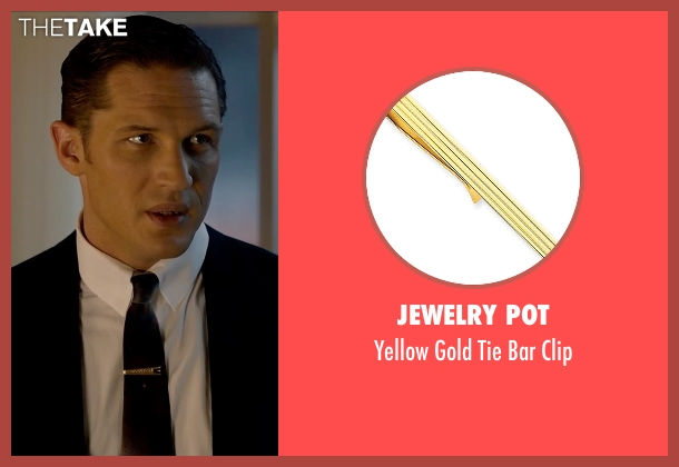 Jewelry Pot gold clip from Legend seen with Tom Hardy (Reginald Kray)