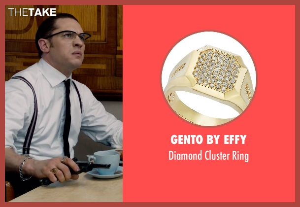 Gento By Effy gold ring from Legend seen with Tom Hardy (Ronald Kray)