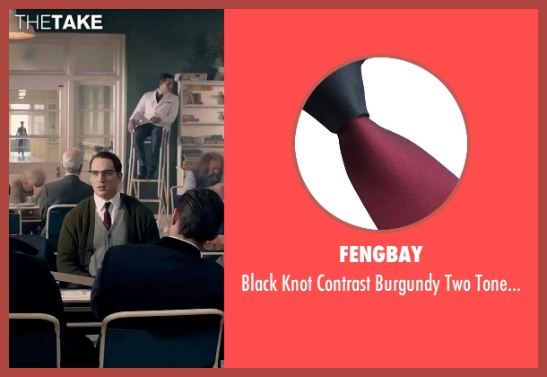 Fengbay red necktie from Legend seen with Tom Hardy (Ronald Kray)