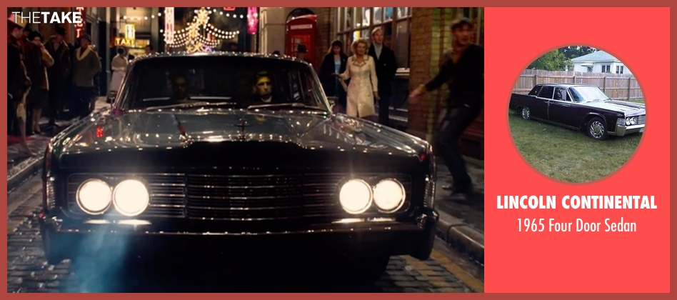 Lincoln Continental sedan from Legend seen with Tom Hardy (Reginald Kray)
