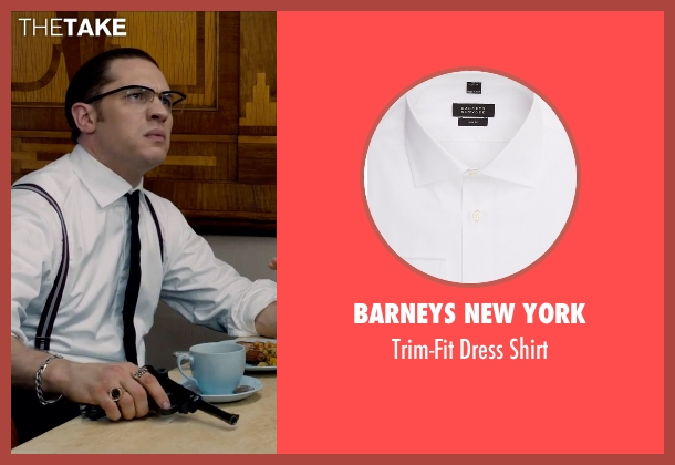 Barneys New York white shirt from Legend seen with Tom Hardy (Ronald Kray)