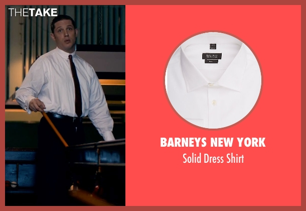 Barneys New York white shirt from Legend seen with Tom Hardy (Reginald Kray)