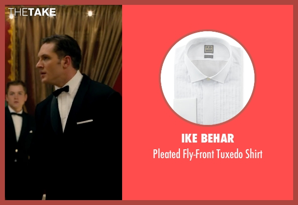 Ike Behar white shirt from Legend seen with Tom Hardy (Reginald Kray)
