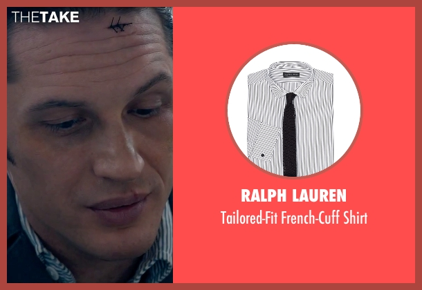 Ralph Lauren white shirt from Legend seen with Tom Hardy (Reginald Kray)