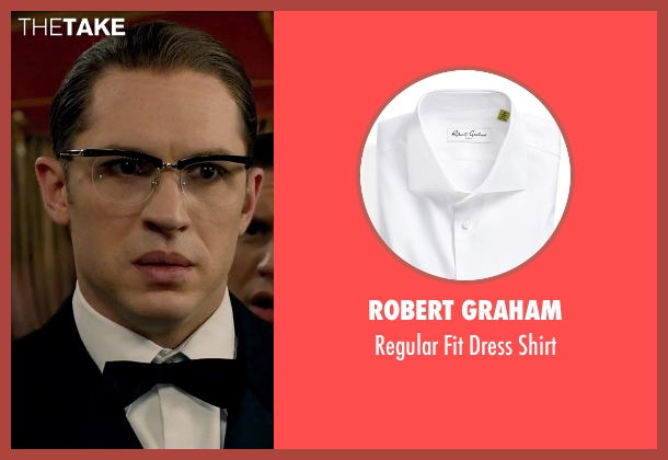 Robert Graham white shirt from Legend seen with Tom Hardy (Ronald Kray)