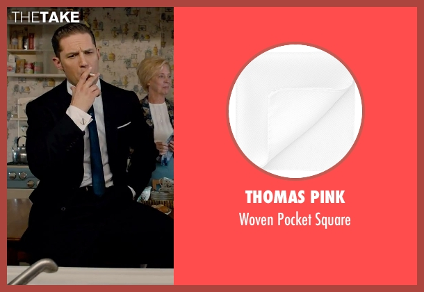 Thomas Pink white square from Legend seen with Tom Hardy (Reginald Kray)