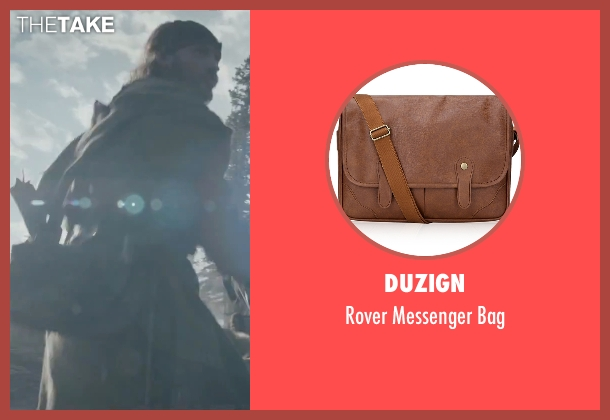 Duzign brown bag from The Revenant seen with Tom Hardy (John Fitzgerald)