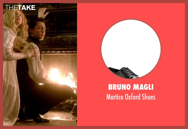 Bruno Magli black shoes from Crimson Peak seen with Tom Hiddleston (Sir Thomas Sharpe)