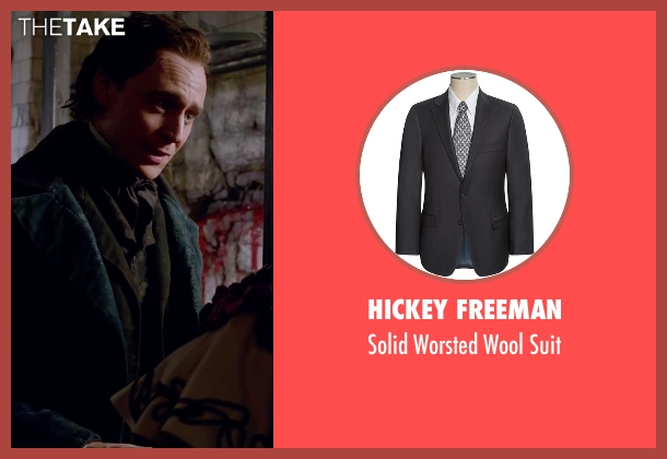 Hickey Freeman black suit from Crimson Peak seen with Tom Hiddleston (Sir Thomas Sharpe)