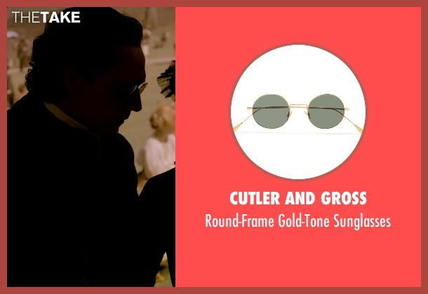Cutler And Gross black sunglasses from Crimson Peak seen with Tom Hiddleston (Sir Thomas Sharpe)