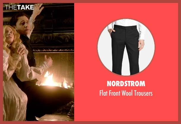 Nordstrom black trousers from Crimson Peak seen with Tom Hiddleston (Sir Thomas Sharpe)