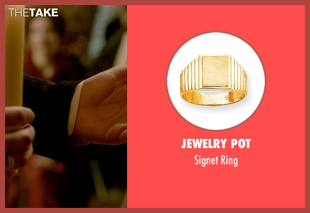 Jewelry Pot gold ring from Crimson Peak seen with Tom Hiddleston (Sir Thomas Sharpe)