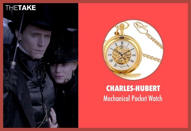 Charles-Hubert gold watch from Crimson Peak seen with Tom Hiddleston (Sir Thomas Sharpe)