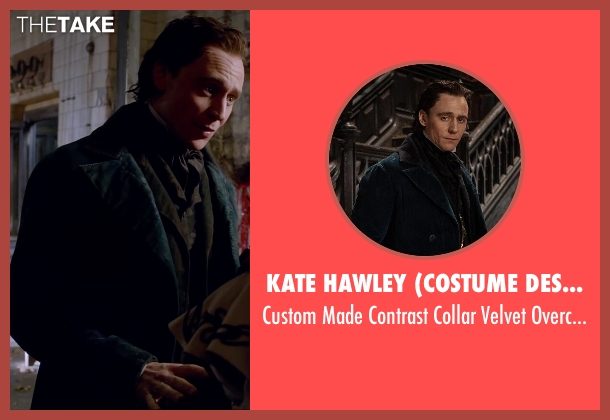Kate Hawley (Costume Designer) overcoat from Crimson Peak seen with Tom Hiddleston (Sir Thomas Sharpe)