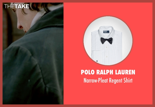 Polo Ralph Lauren white shirt from Crimson Peak seen with Tom Hiddleston (Sir Thomas Sharpe)