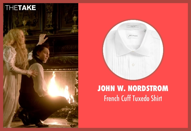 John W. Nordstrom white shirt from Crimson Peak seen with Tom Hiddleston (Sir Thomas Sharpe)