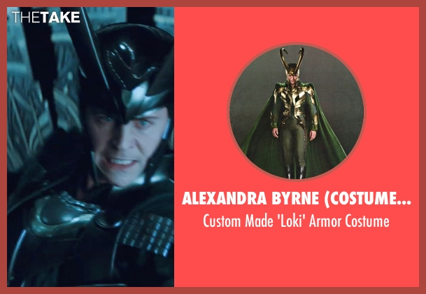 Alexandra Byrne (Costume Designer) costume from Thor seen with Tom Hiddleston (Loki)