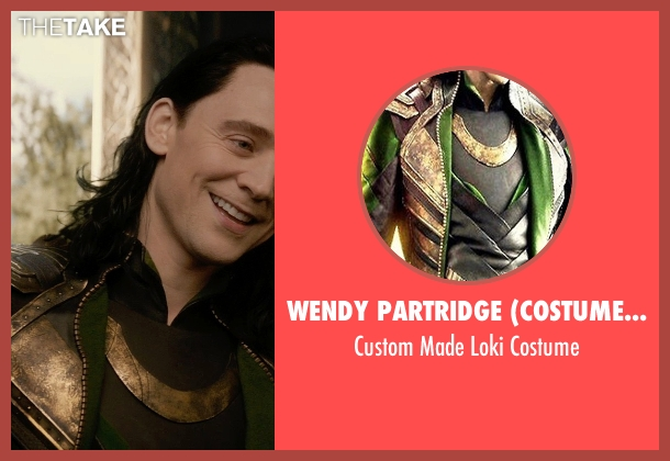Wendy Partridge (Costume Designer) costume from Thor: The Dark World seen with Tom Hiddleston (Loki)