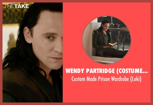Wendy Partridge (Costume Designer) wardrobe from Thor: The Dark World seen with Tom Hiddleston (Loki)