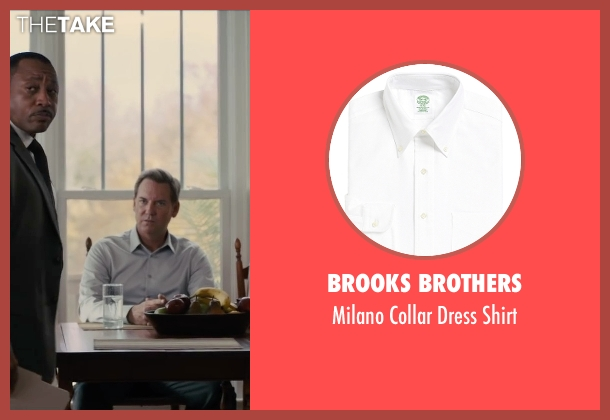 Brooks Brothers white shirt from Paper Towns seen with Tom Hillmann (Mr. Spiegelman)