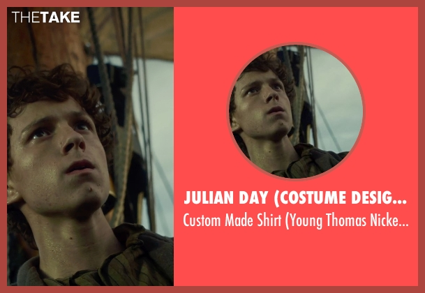Julian Day (Costume Designer) shirt from In the Heart of the Sea seen with Tom Holland (Young Thomas Nickerson)