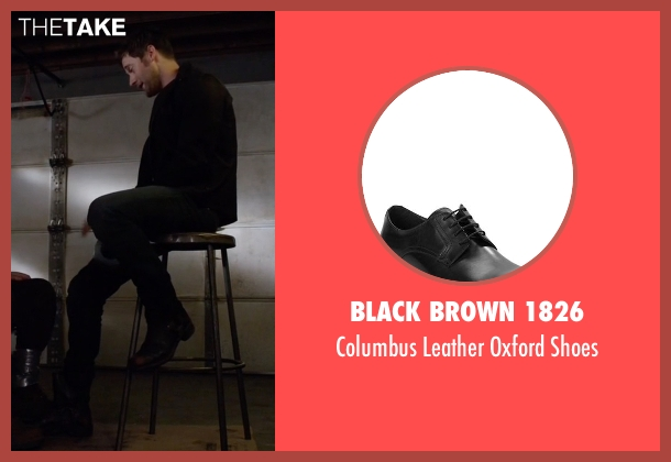 Black Brown 1826 black shoes from The Blacklist seen with Tom Keen (Ryan Eggold)