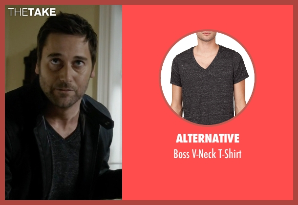 Alternative black t-shirt from The Blacklist seen with Tom Keen (Ryan Eggold)