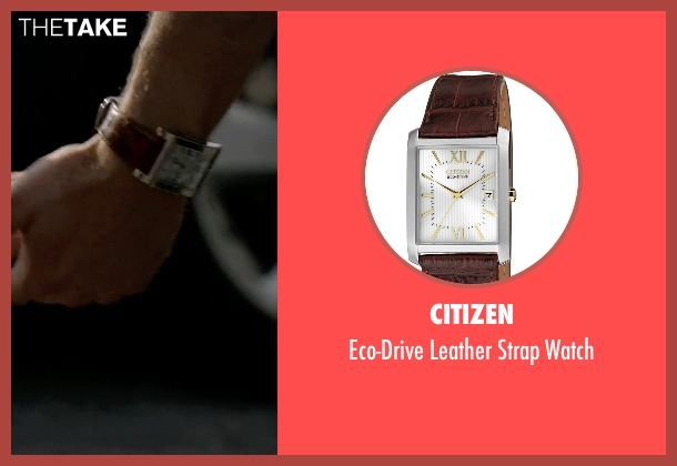 Citizen brown watch from The Blacklist seen with Tom Keen (Ryan Eggold)
