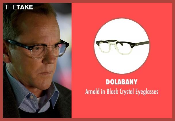 Dolabany black eyeglasses from Designated Survivor seen with Tom Kirkman (Kiefer Sutherland)