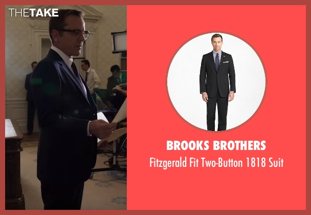 Brooks Brothers black suit from Designated Survivor seen with Tom Kirkman (Kiefer Sutherland)
