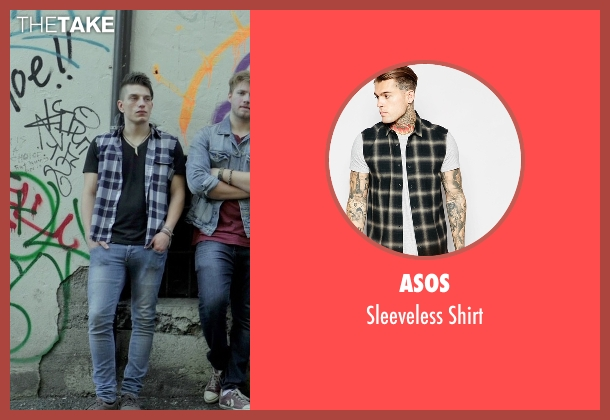 ASOS  black shirt from If I Stay seen with Tom Vanderkam (Willamette Stone Band)