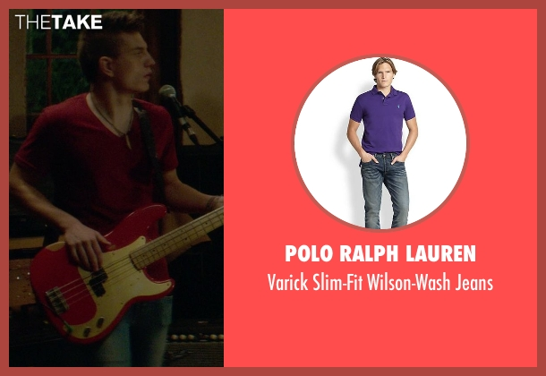 Polo Ralph Lauren blue jeans from If I Stay seen with Tom Vanderkam (Willamette Stone Band)