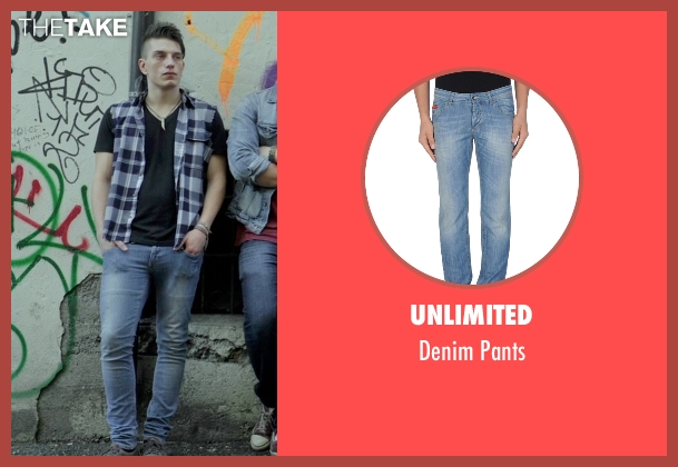 Unlimited blue pants from If I Stay seen with Tom Vanderkam (Willamette Stone Band)
