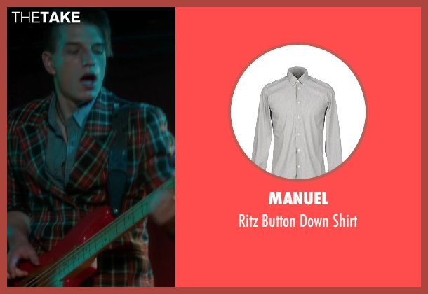 Manuel gray shirt from If I Stay seen with Tom Vanderkam (Willamette Stone Band)