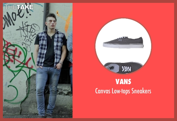 Vans gray sneakers from If I Stay seen with Tom Vanderkam (Willamette Stone Band)