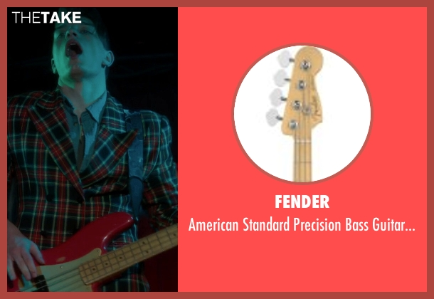 Fender red from If I Stay seen with Tom Vanderkam (Willamette Stone Band)