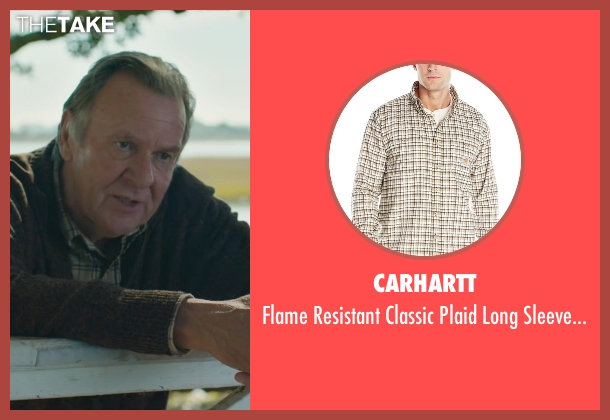 Carhartt brown shirt from The Choice seen with Tom Wilkinson (Dr. Shep)