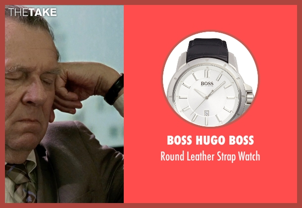 Boss Hugo Boss black watch from Unfinished Business seen with Tom Wilkinson (Timothy McWinters)