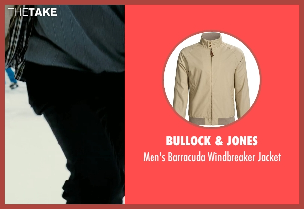 Bullock & Jones jacket from Limitless seen with Tomas Arana (Man in Tan Coat)