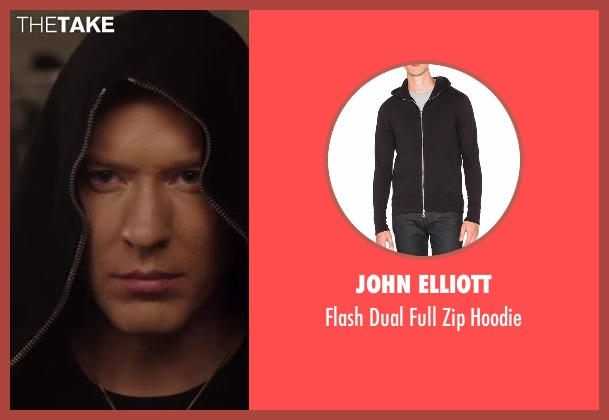Just Cavalli black hoodie from Power seen with Tommy Egan (Joseph Sikora)