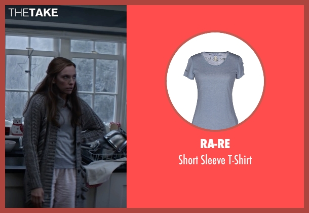 RA-RE blue t-shirt from Krampus seen with Toni Collette (Unknown Character)