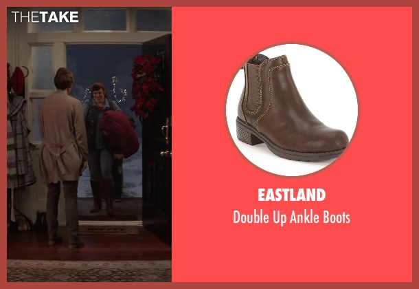 Eastland brown boots from Krampus seen with Toni Collette (Unknown Character)