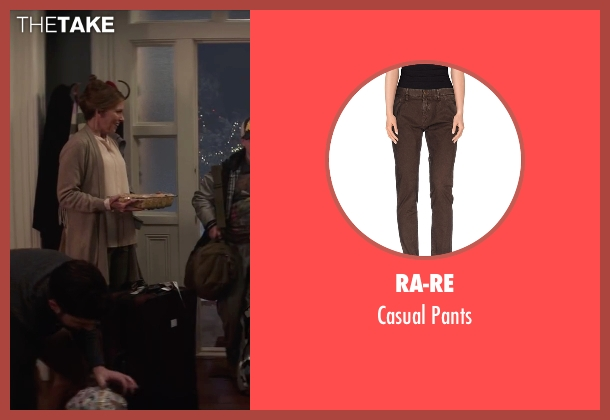 RA-RE brown pants from Krampus seen with Toni Collette (Unknown Character)