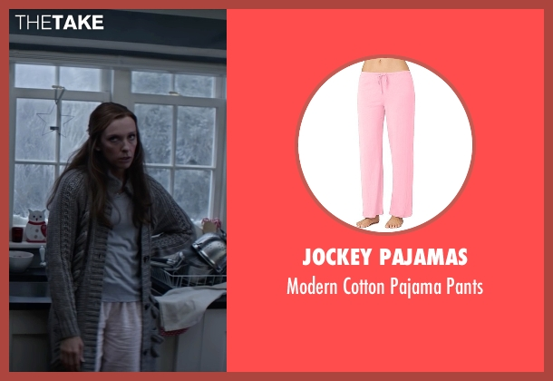Jockey Pajamas pink pants from Krampus seen with Toni Collette (Unknown Character)