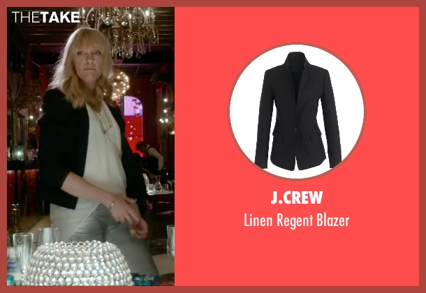 J.Crew black blazer from Miss You Already seen with Toni Collette (Milly)