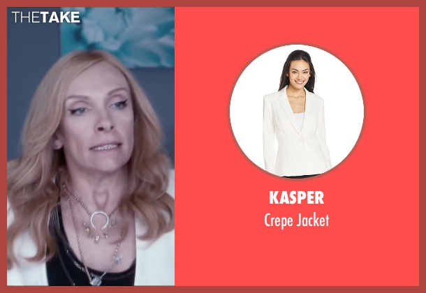 Kasper white jacket from Miss You Already seen with Toni Collette (Milly)