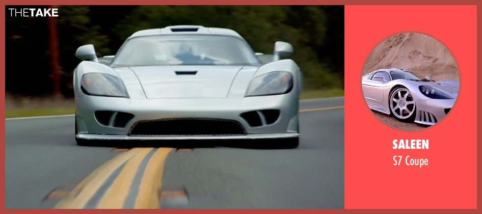 Saleen coupe from Need for Speed seen with Tony Brakohiapa (The Gooch)