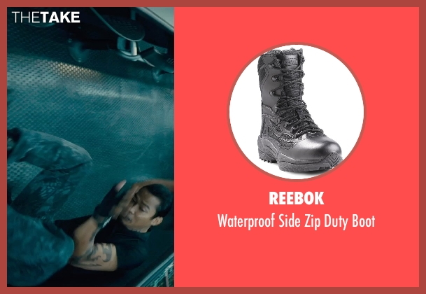Reebok black boot from Furious 7 seen with Tony Jaa (Louie Tran)