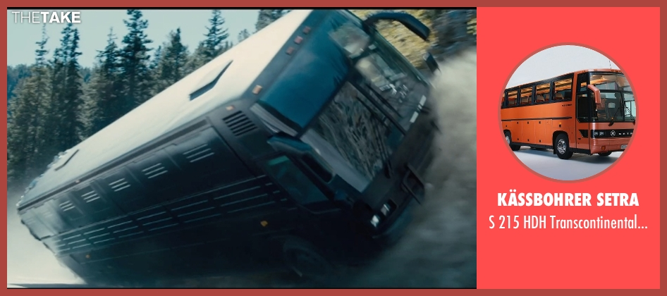 Kässbohrer Setra bus from Furious 7 seen with Tony Jaa (Louie Tran)